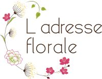 Ladresse florale-Logo-Couleur